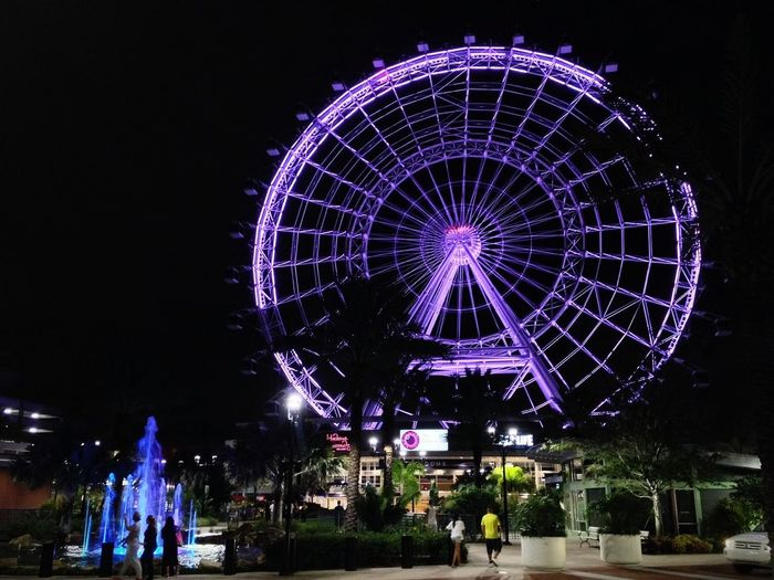 My View Myview Orlando Florida The Orlando Eye Theorlandoeye Nightphotography Observation Wheel Ferris Wheel Ferriswheel