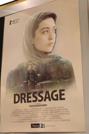 Dressage film poster, a youth drama by Pooya Badkoobeh illustrating the consequences of growing social divisions within contemporary Iranian society Dressage Film MOVIE Movie Poster Pooya Badkoobeh Cinema Film Poster Film Posters Movie Posters