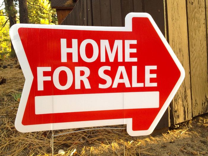 Sign for home sale Home Real Estate Home For Sale Signs Sign Information Information Sign Arrow Symbol Communication