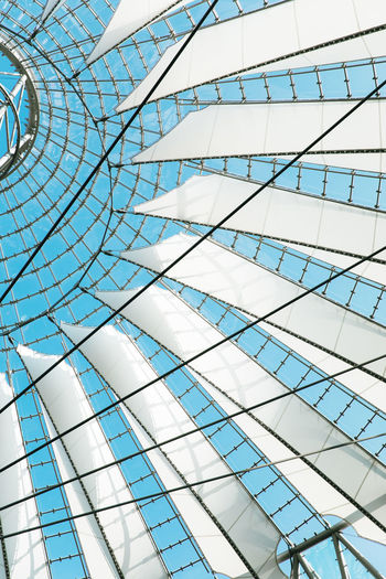 Architectural Feature Architecture Architecture And Art Backgrounds Building Built Structure Ceiling Day Design Directly Below Full Frame Geometric Shape Glass - Material Indoors  Low Angle View Modern No People Pattern Shape Skylight Sunlight