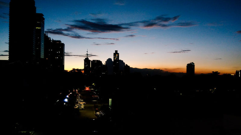 The City Never Sleeps   The City Project Skyscraper City Urban Skyline Sky Night Silhouette Architecture Philippines Mobilephotography Street Photography ManilaStreetPhotography Streetphotography ManilaPH