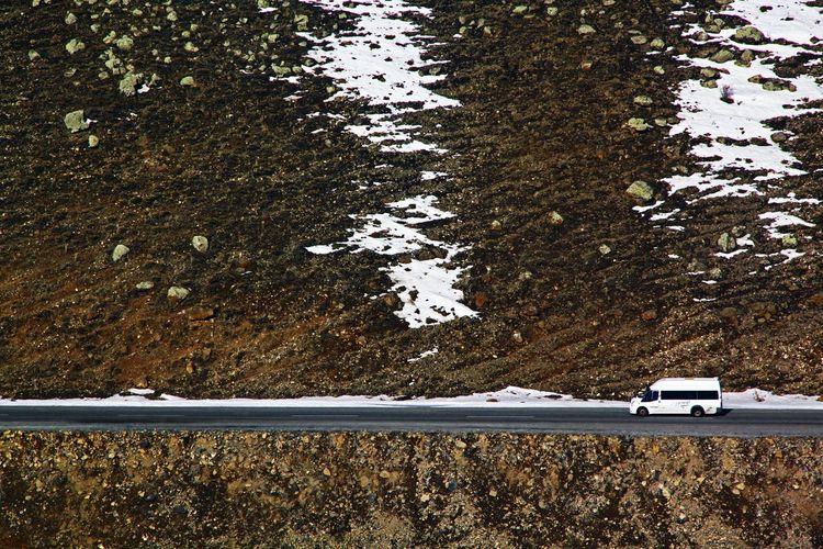 Doğu Ekspresi Mountain Path Pathway Nature And Technology Nature And Human Minibus Turkey Train Window Snow