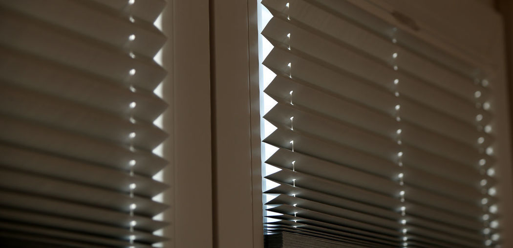 Shutters Blinds Close-up Day Indoors  Jalousie Window No People Pattern Shutter Spiral