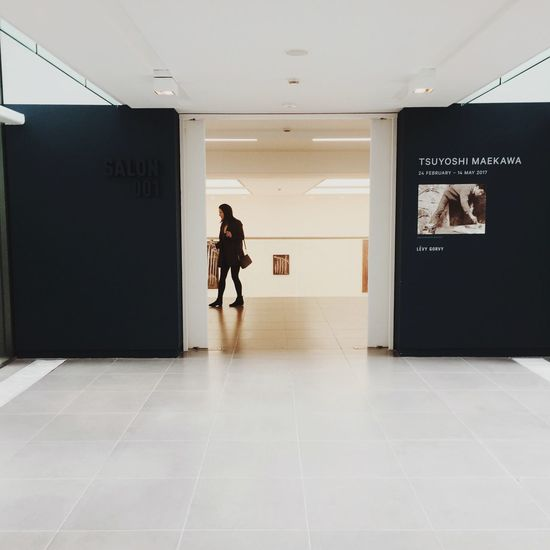 EyeEm Selects Architecture Saatchi Gallery London Real People One Person Arts Culture And Entertainment