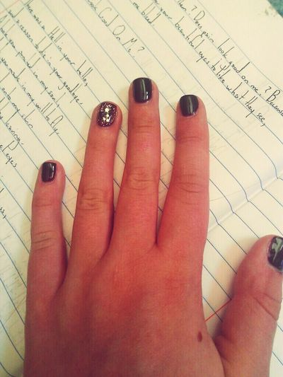 Nails Poetry Notebook
