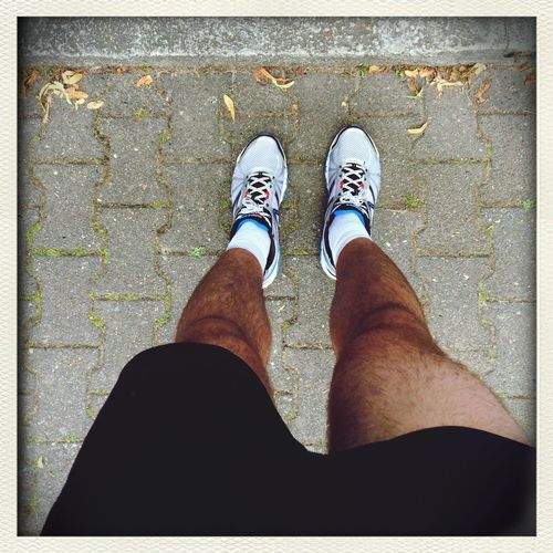 100days100trainings , day 34, training 33, Track Running  , Shoefie , Zerrung oder Muskelfaserriss :-(