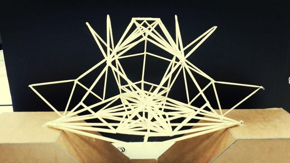Proyecto....estructura de modulo policial y puente con cubierta Maqueta