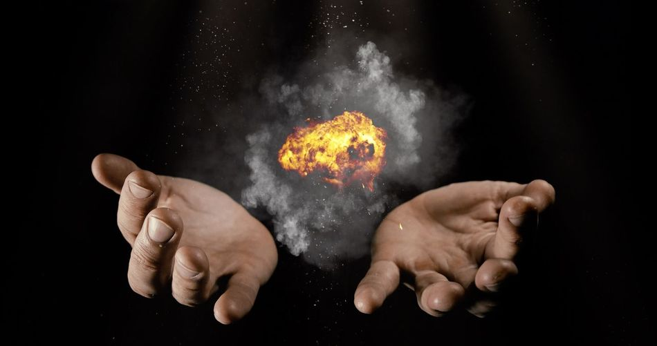Cool Magical Smoke WOW Witchcraft  Wizard Amazing Awe Awesome Backgrounds Black Background Dust Exploding Farytale Fire Hand Human Hand Magic Magic Moments Magic Trick Magical Moments Magician Sparks Studio Shot Witch