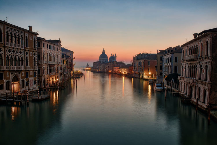 A quiet morning on the Grand Canal of Venice City Cityscape Grand Canal Morning Travel Venice, Italy Architecture Building Exterior Built Structure Canal Day Dome Early Morning History Italy Nautical Vessel No People Outdoors Sky Sunrise Tourism Travel Destinations Venice Water Waterfront HUAWEI Photo Award: After Dark