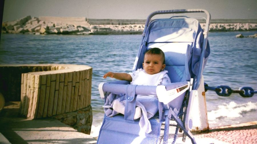 Child Sitting Outdoors Childhood One Person People Day Lifestyles Mode Of Transport Tranquil Scene This Is Egypt ❤ My Egypt Resolution This Is Egypt Alexandria Minime! 90's Kid