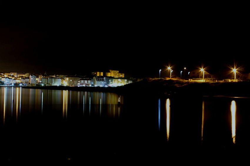 Nightphotography Night Lights Galicia Calidade Amazing View