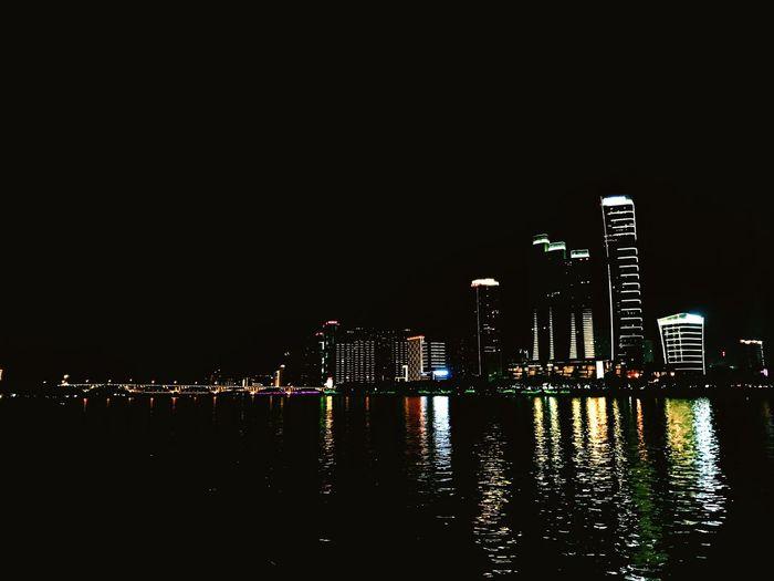 Night Architecture lights