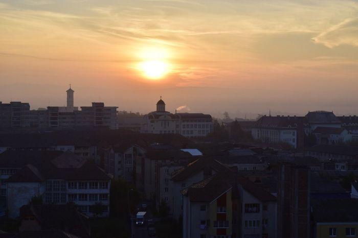 Architecture City Cityscape No People Sky Outdoors Nature Sunrise Alba Iulia Romania