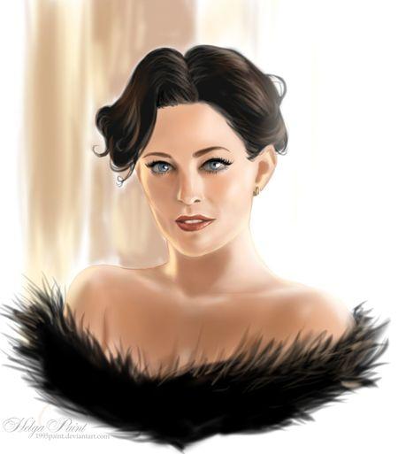 1995paint 2017 BlueEyes HelgaPaint IreneAdler Redlips Sherlock Thewoman Woman Art Blackhair Fanart Larapulver Person Portrait Sailboat