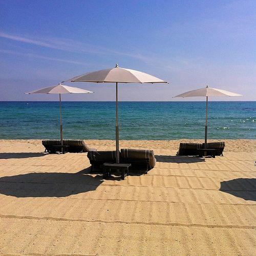 Saint Tropez today 😌☀️ Beauty Sainttropez Beach Sea And Sky Spring France Sun ☀
