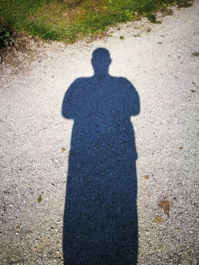 Shadow Focus On Shadow Sunlight High Angle View Real People Day Men Sand Outdoors Lifestyles One Person Beach Standing Nature People