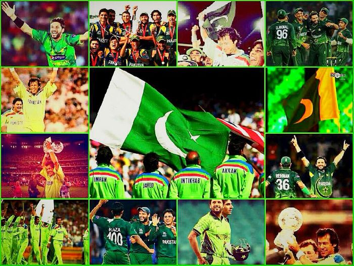 Cricket, One Of The Most Popular And Loved Sports In Pakistan. People Are Crazy About Cricket Here! Imran Khan Shahid Afridi Cricketlover