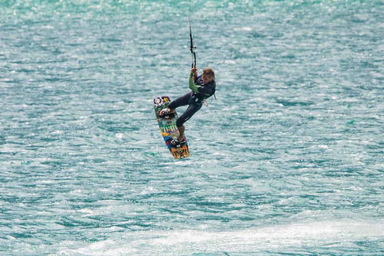 Skysurfer am