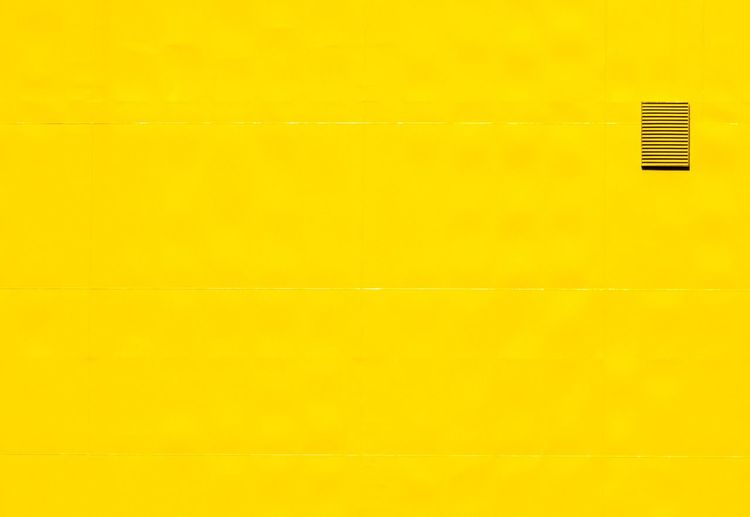 Negative Space Minimalism Urban Geometry Lines Smart Simplicity Yellow Wall - Building Feature No People Copy Space Backgrounds Full Frame Architecture Indoors  Built Structure Pattern Simplicity Day Single Object Close-up Textured  Electricity  Wall Sparse Blank