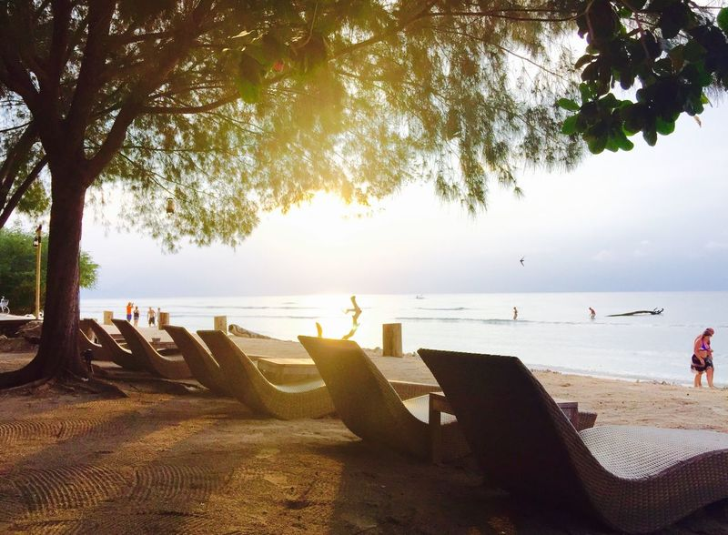 Gili island sunset Gili Trawangan Sunset Gili Islands INDONESIA Island Islands Hi! 2015  Archive IPhoneography IPhone