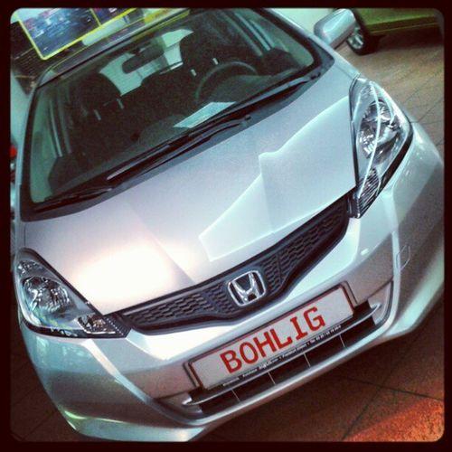 Another Honda Car i fall in Love ♥ (^_-)☆彡(笑) Bohlig