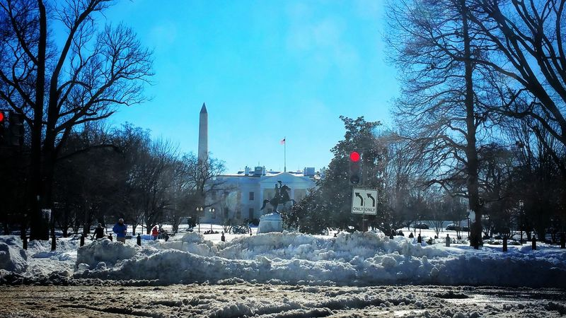 TheWhiteHouse Blizzard 2016 Northside Cjfmass Taking Photos Washington, D. C. Afterstorm