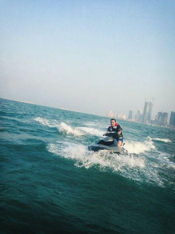 Jetskiing Fun Times Bahrain Life Is A Beach