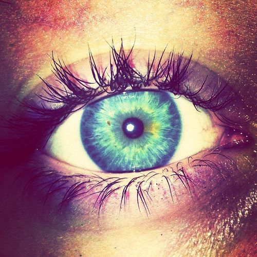 my eye~