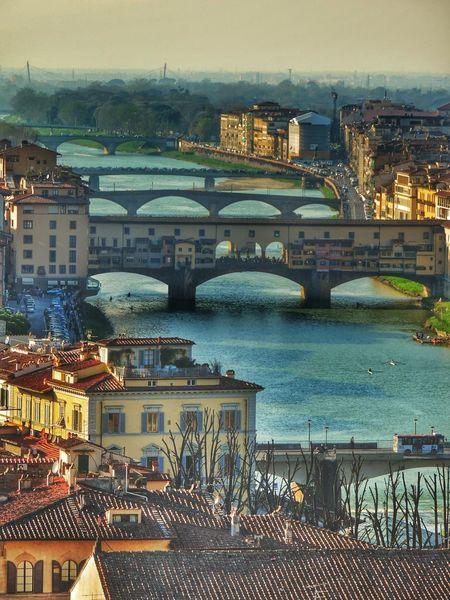 18 marzo 2014; firenze Walking Around Vista Su Firenze Firenze