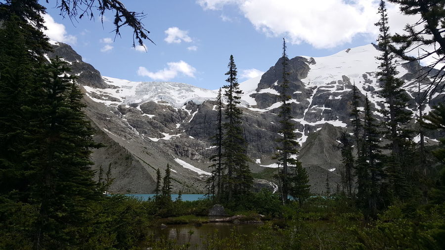 Upper lake! Day Cloud - Sky Outdoors Nature Mountain Beauty In Nature Sky Travel Destinations Enjoying The Sights Vancouver On A Hike