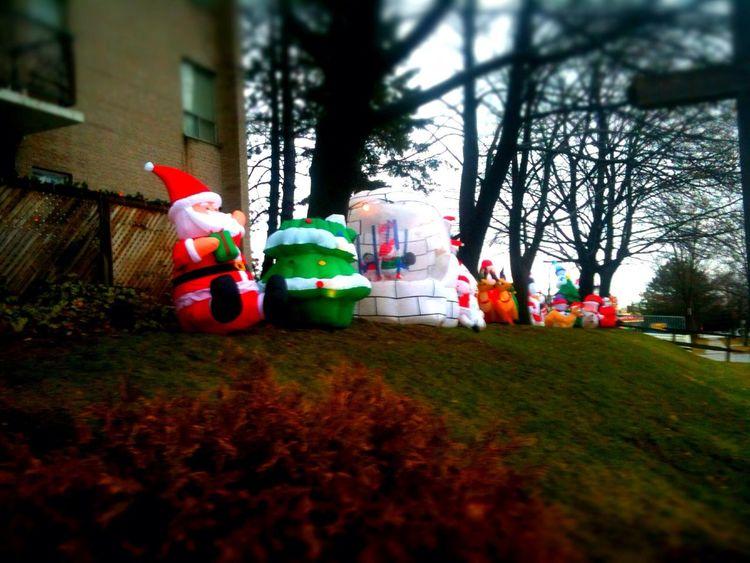 Santa and friends in Richmond Hill Santa And Friends