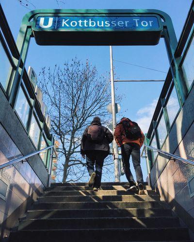 Soaking Up The Sun Sun Sunshine Ubahn UbahnStation Underground Kottbusser Tor