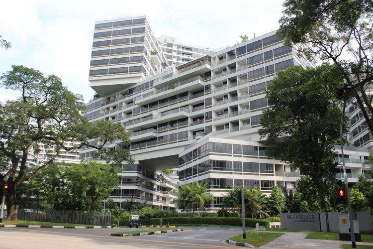 Architecture Architecture Architecture_collection Building Exterior Built Structure City City Life Condominium Day Growth Interlace Modern Modern Architecture No People Outdoors Road Singapore Singapore City Singapore View Sky Street Travel Travel Destinations Tree First Eyeem Photo