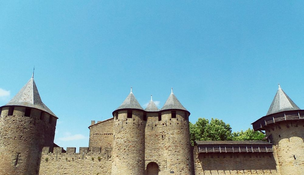 Carcasonne Castle // Architectural Detail French Old Buildings Photography EyeEm Best Shots Religious  Eye4photography  EyeEmBestPics Architecture_collection Carcassonne