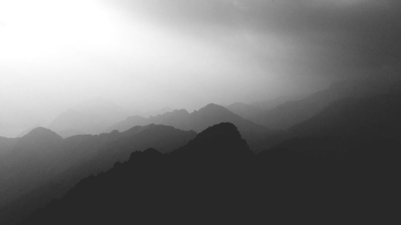 Shadows peaks transport you into dreams Mountains Mountain Peak Peaks Shadows Blackandwhite Photography EyeEm Nature Lover EyeEm Gallery Greyscale Mountains And Sky In The Nature Finding New Frontiers