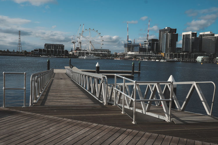 Victoria Harbour. Harbour Harbor Subtle Ocean Pier Lookingaround Notiphone EyeEmMelbourne Me, My Camera And I XF23mmf1.4 Fujifilm_xseries Classicchrome Muted Colors Mirrorless Sea And Sky Landscape Perspectives Calm Zen Perfect Day