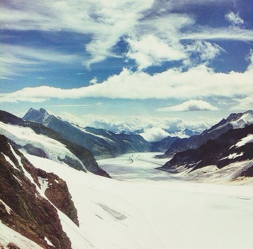 Makes me miss winter EyeEm Nature Lover Snowymountain Beautiful