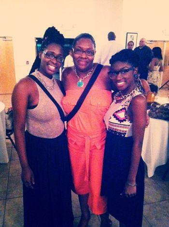 Mommy, sister, & I