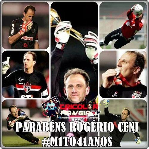 Mito41anos SPFC Tricolor Parabéns idolorc