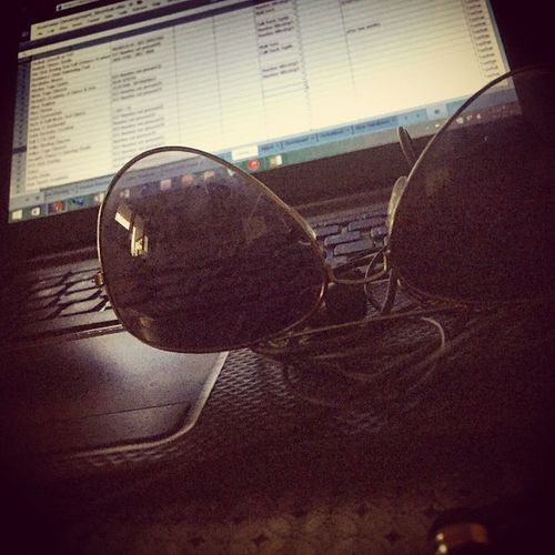 Excessive Excel can be injurious to your eyes!!! Toomanyshades Excel MySportsAdda Work