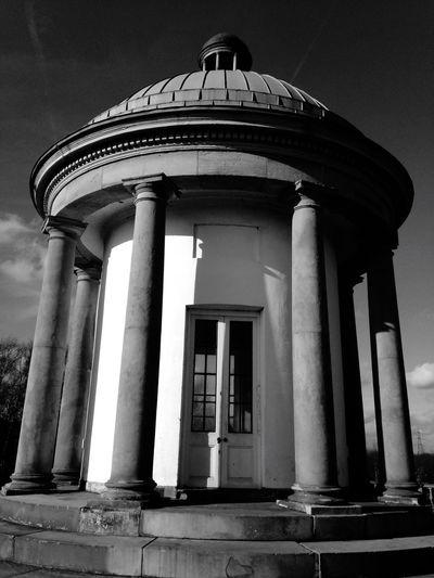 Manchester HeatonPark Papal Monument Edwardian History Building Architecture Blackandwhite Black & White Black And White