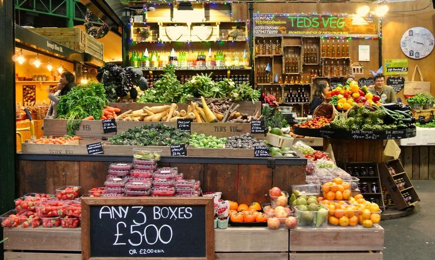 The Week On EyeEm Market Vegetable Food Retail  Choice Food And Drink Market Stall Healthy Eating Price Tag Freshness Fruit Abundance For Sale Store Merchandise Large Group Of Objects Groceries Borrough Market London England Travel Traveling Travel Destinations Throwback