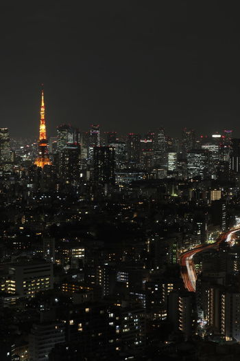 Building Exterior Architecture City Night Illuminated Built Structure Building Cityscape Tall - High Office Building Exterior Skyscraper Tower No People Sky Travel Destinations Modern Office Nature Outdoors Spire  Financial District  Tokyo Tokyo Tower Tokyo Street Photography