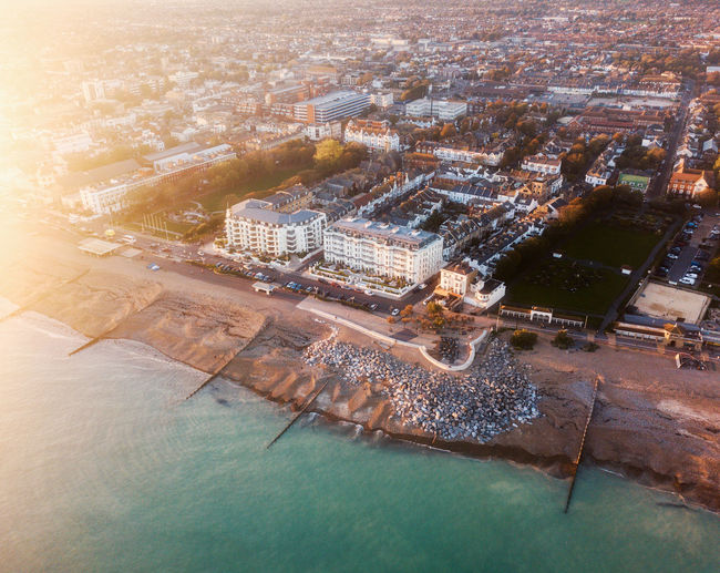 Drone shots of Worthing seaside Drone  Dronephotography Drone Photography Droneshot DJI Mavic Pro Dji DJI X Eyeem Pilot Sky Fly City Architecture Building Exterior Water Aerial View Built Structure Cityscape High Angle View Nature Building Travel Destinations No People City Life Transportation Outdoors Office Building Exterior Day Waterfront Skyscraper