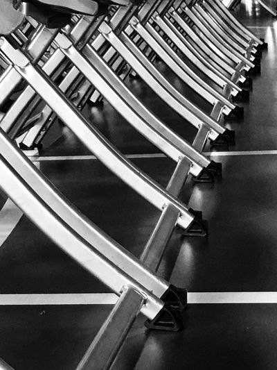 Day Close-up Indoors  No People Chair Abstract Blackandwhite Symmetry