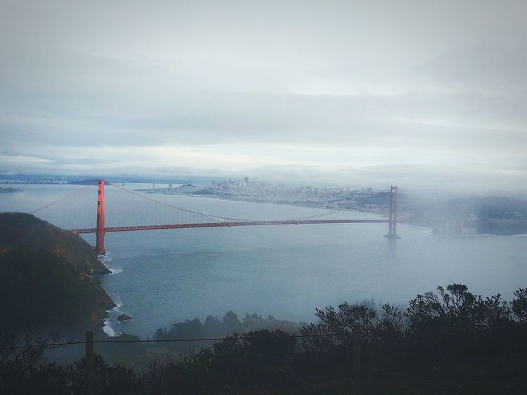 San Francisco Golden Gate Bridge Natural View Scenic View Natural Beauty Check This Out Road Scenery Travel Photography Architecture EyeEm Gallery