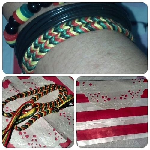 Love love love this accesories handmade by PaceMakers. Highly recommended! Mmg rare and sgt mesra peramah dengan customer. :)) Mari mari beli and like page ni @pace_makers RASTA Lokalah HandmadeAccesories PaceMakers