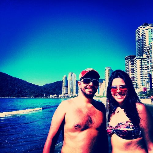 Summer Beach Enjoying Life Brazil