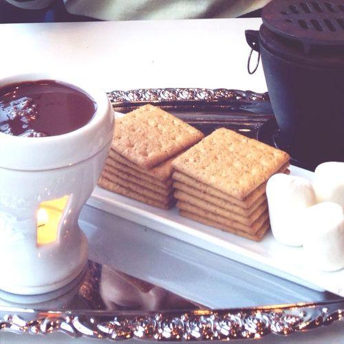 Chocolate Fondue Mink Cafe