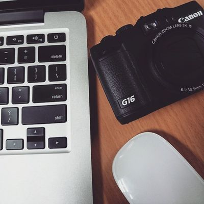 Photoproject365 June2015 Clovewebstudio Canon G16 Day 6 of 365 - Gear